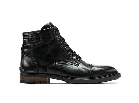 Kenyon Vintage | Hoge zwarte boots