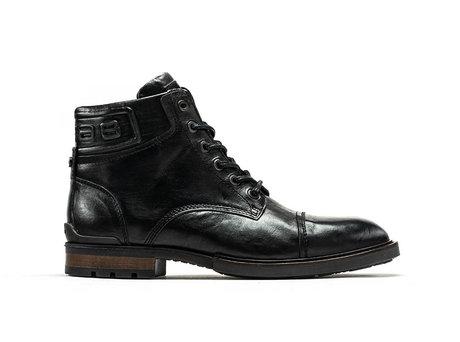 Kenyon Vintage   Schwarze Stiefel