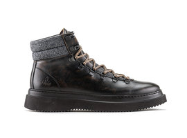 Murray Lthr   Bruine boots