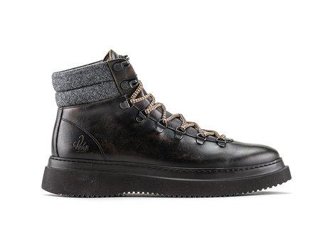 Murray Lthr | Bruine boots
