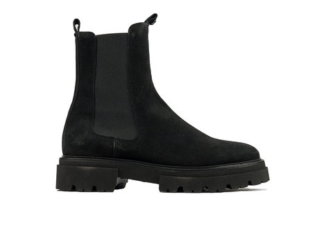 Kaatje Suède | Zwarte chelsea boots