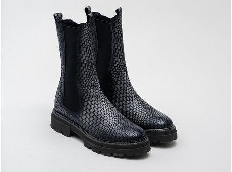Kara Brick Met   Dark grey Chelsea boots