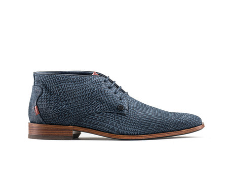 Gregory Triangle   High dark blue business shoes