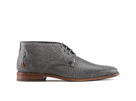 Gregory Liz   High dark grey business shoes