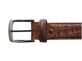 REHAB Belt Croco 121 Brown