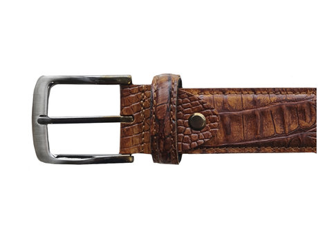 Belt Croco 121 Brown