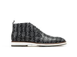 Potsavivo Weave | Dark grey lace up shoes