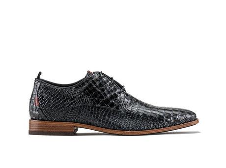 Greg Crc Vnz | Donkergrijze nette schoenen