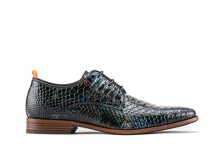 Fred Snk Anchor | Donkergroene nette schoenen