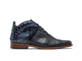 Kurt II Snk Vnz   Mid-top dark blue shoes