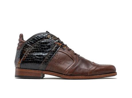 Kurt II Snk Vnz | Mid-top brown shoes