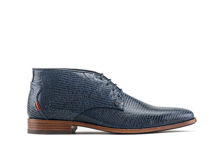 Gregory Liz | Hoge donkerblauwe nette schoenen