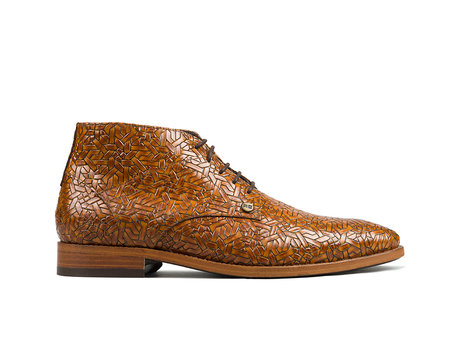 Barry Weave   Brown business shoes