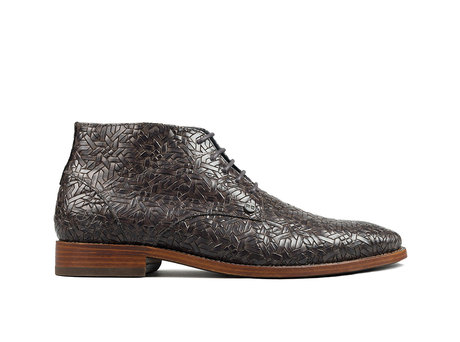 Barry Weave   Dark grey business shoes