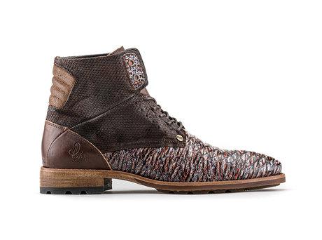 Alesandro Fred Sardines | Hoge bruine boots