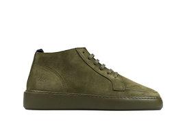 Tyler Nub Tnl | Hoge donkergroene sneakers