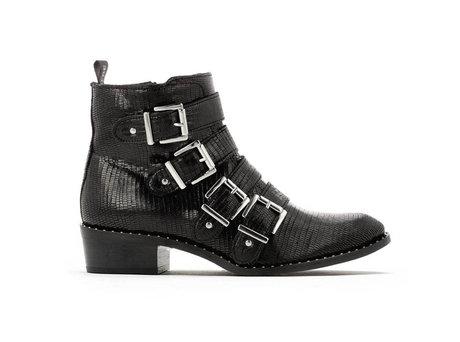 Ruby Liz | Black bikers boots