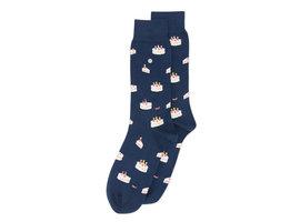 Alfredo Gonzales Cake| Luxe donkerblauwe sokken