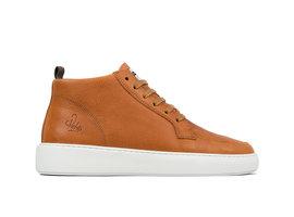 Tyler Tmb   Hoge bruine sneakers