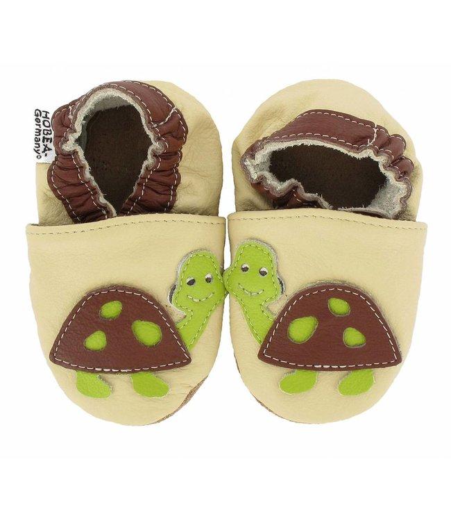 babyslofjes Hobea schildpad (loop)