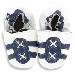 Hobea babyslofje sport wit/blauw