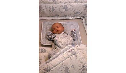 Baby bedset, kussen en deken
