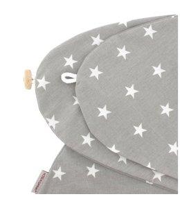 Hoes grijs met sterren