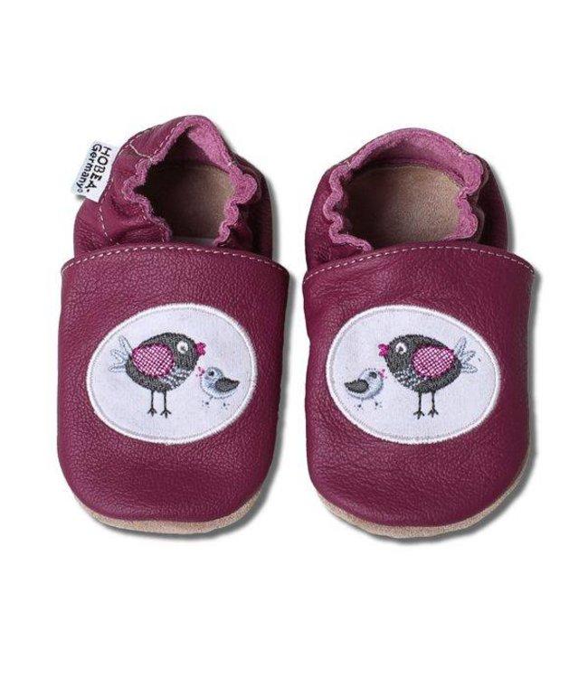 Hobea babyslofjes paar Vogel (Kruip)