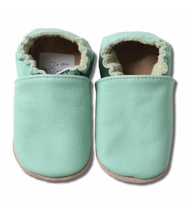Babyslofjes mint groen (Kruip)