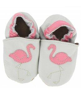 Babyslofjes Flamingo (Kruip)