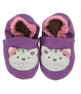 Babyslofjes kat paars (Kruip)