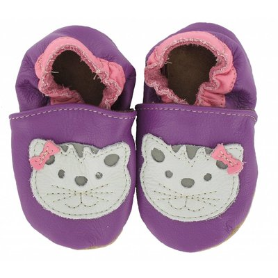 Babyslofjes kat paars