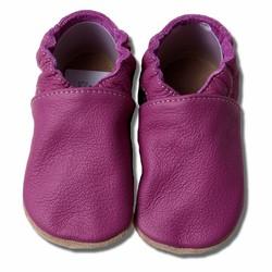Babyslofjes bordeaux/paars