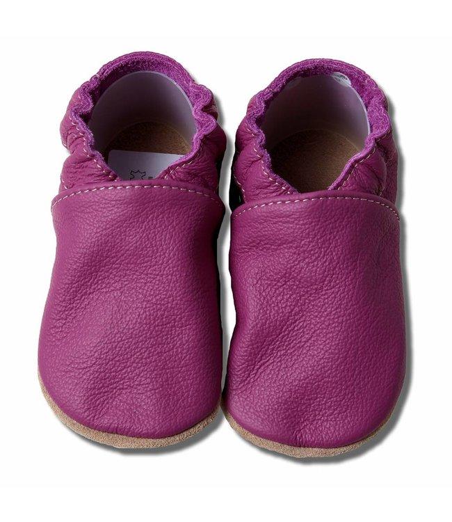 Babyslofjes bordeaux/paars (Kruip)