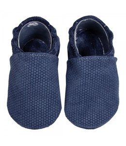 Babyslofjes blauw honingraat (Loop)