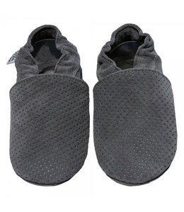Babyslofjes grijs met reliëf (Kruip)