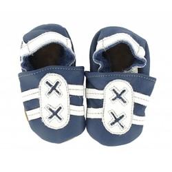 Hobea babyslofje sport  blauw/wit