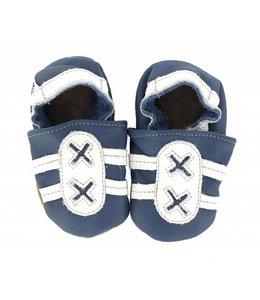 Hobea babyslofje sport  blauw/wit (kruip)