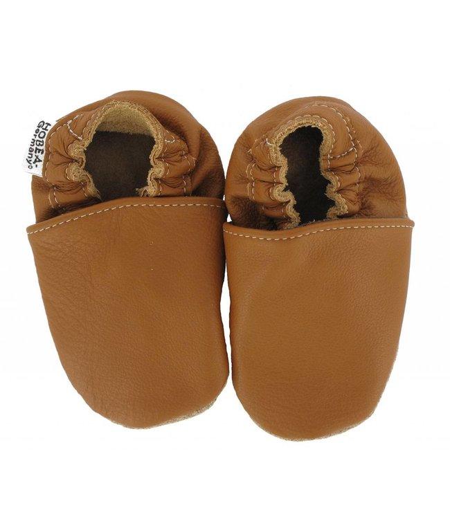 Hobea babyslofje nougat/camel (Kruip)