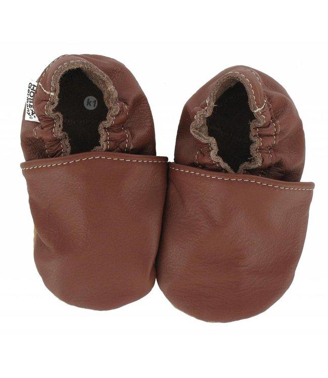 Hobea babyslofje bruin (Loop)