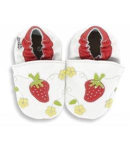 Hobea babyslofje aardbeien