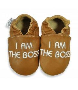 Hobea babyslofje I am the Boss (kruip)