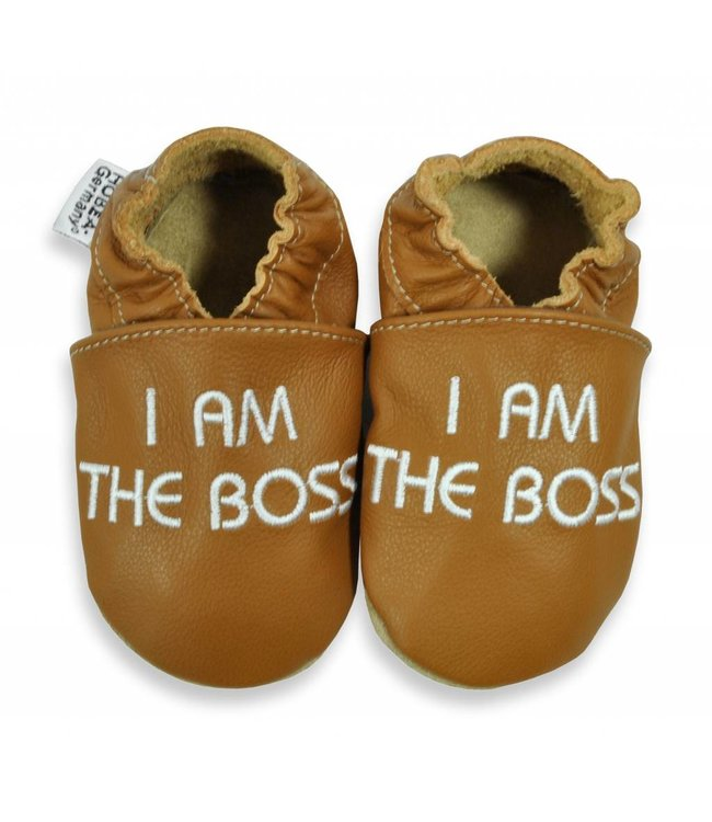 Hobea babyslofje I am the Boss  (kruip)