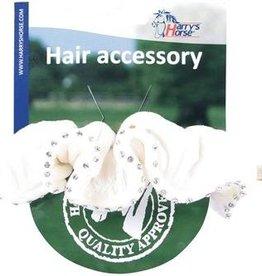 Harry's Horse Haar accessoire wit
