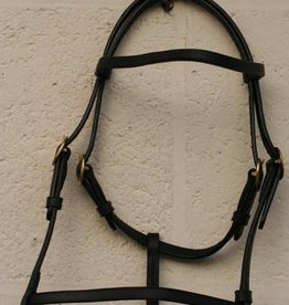 leather show  headcollar