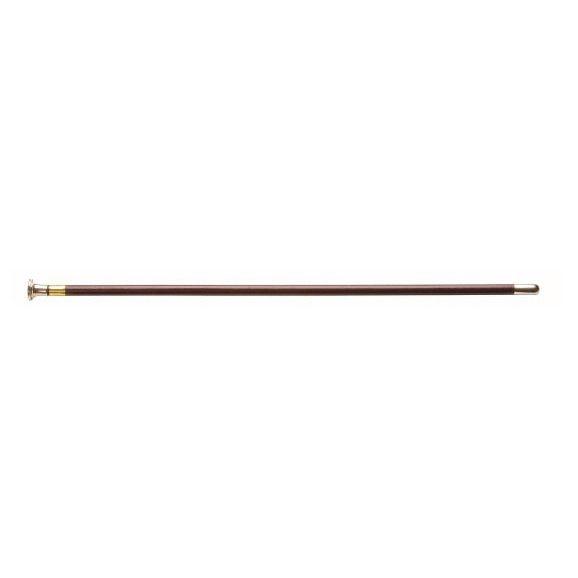 Show cane met knop bruin