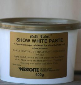 Gold Label BESTSELLER! show white paste