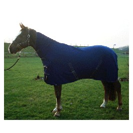 HB fleece rug with neck