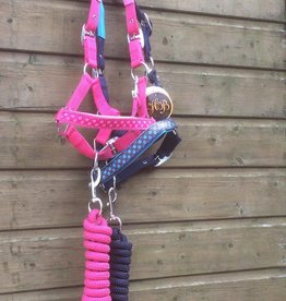 HB Headcollar set Dots