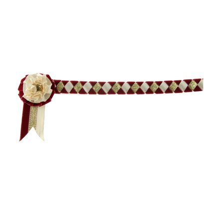 Showquest Browband velvet with roset
